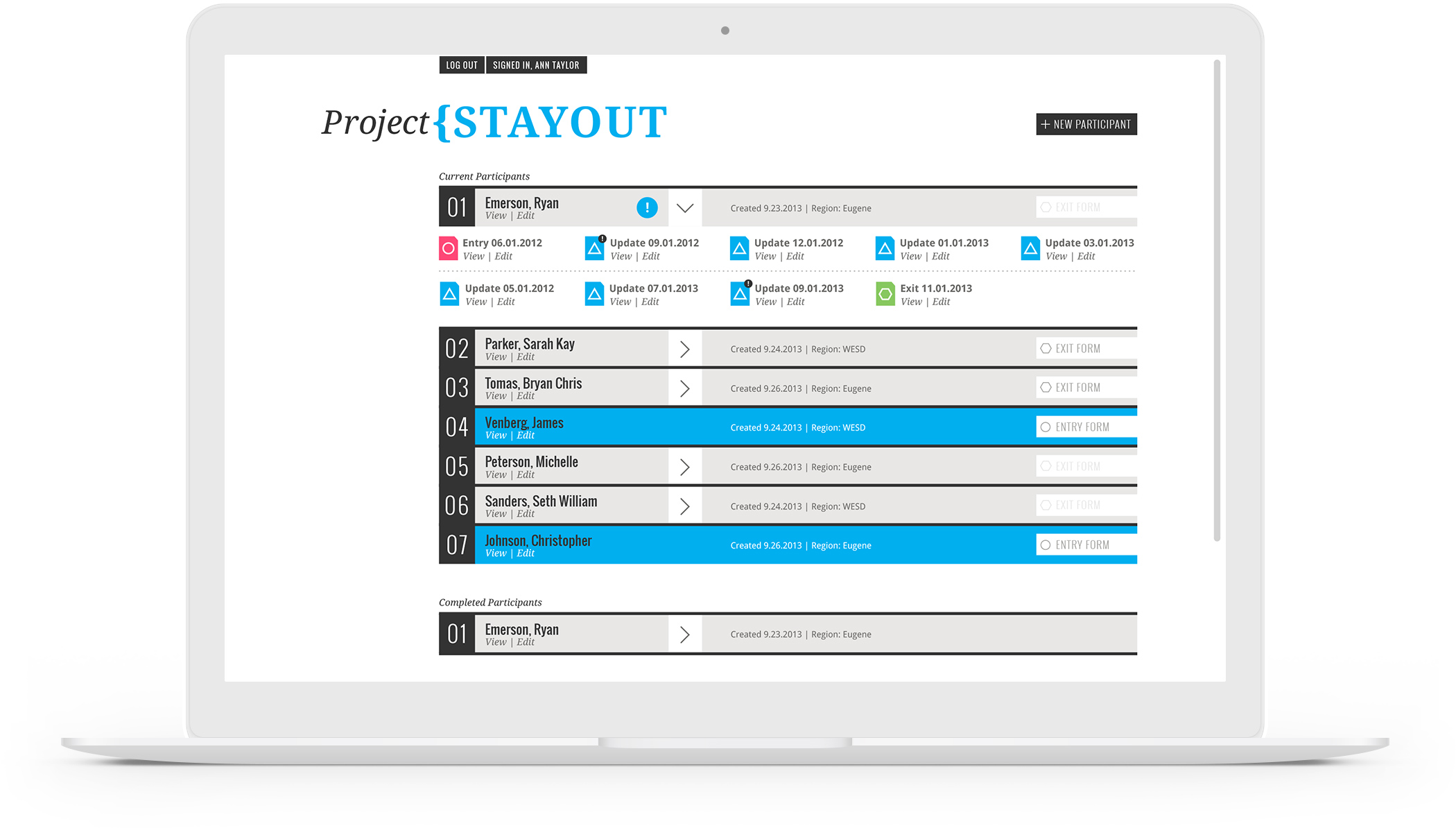 Project STAYOUT Laptop